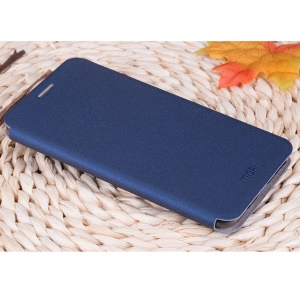 MOFI Rui Series PU Leather Stand Case for Meizu Pro 5 - Dark Blue