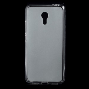 Double-sided Matte TPU Case for Meizu m3 note - Transparent