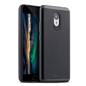IPAKY PC TPU Hybrid Phone Back Case for Meizu m3 note - Grey