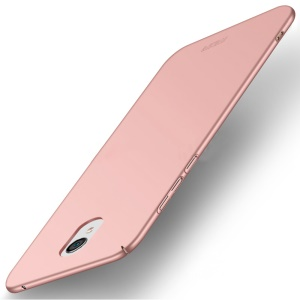 MOFI Shield Frosted Hard Plastic Shell for Meizu M6 - Rose Gold
