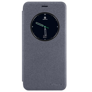 NILLKIN Sparkle View Window Smart Leather Case for Meizu Pro 6 - Black