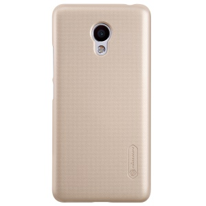 NILLKIN Super Frosted Shield Hard Protector Cover for Meizu m3s - Gold