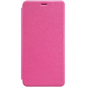 NILLKIN Sparkle Series for Meizu m3s Leather Flip Case - Rose