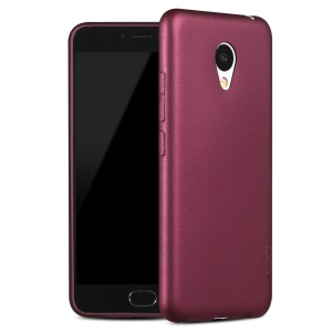 X-LEVEL Guardian Series Frosted TPU Back Cover for Meizu m3 - Wine Red