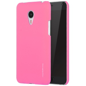 X-LEVEL Rubberized Slim Hard PC Shell for Meizu MX4 Pro - Rose