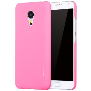 X-LEVEL Metallic Plastic Hard Back Case for Meizu MX5 - Rose