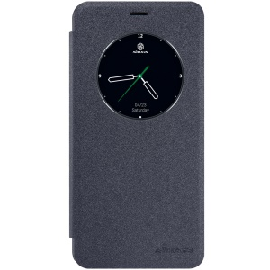 NILLKIN Sparkle Series Smart View Leather Case for Meizu MX6 - Black