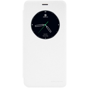 NILLKIN Sparkle Series Smart View Leather Cover for Meizu MX6 - White