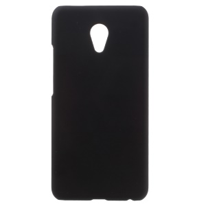 For Meizu MX6 Rubberized Hard Plastic Cover - Black