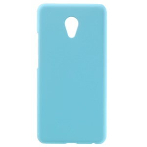 For Meizu MX6 Rubberized Plastic Cover - Baby Blue
