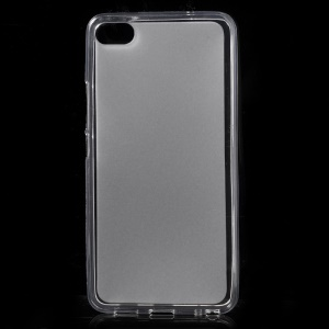 Double-sided Matte TPU Gel Mobile Cover for Meizu U20 - Transparent