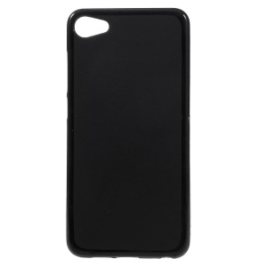 For Meizu U10 Two-Side Matte Anti-fingerprint TPU Phone Cover Case - Black