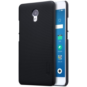 NILLKIN Super Frosted Shield PC Cell Phone Cover for Meizu m5 Note - Black