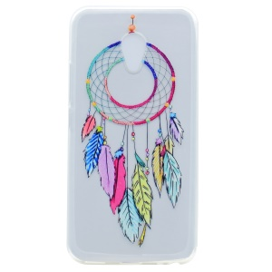 Pattern Printing TPU Cover for Meizu M5s - Dream Catcher