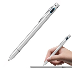 WIWU P338 Universal Active Stylus Pen High-precision Capacitive Pen for iPhone Samsung Huawei - Silver