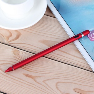 1.4mm Ultra-fine Nib Pen Active Stylus for iPhone Samsung Huawei Etc. - Red