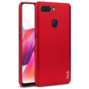 IMAK Jazz Skin Feel PC Phone Cover + Screen Protector for Oppo R15 Dream Mirror Edition - Red