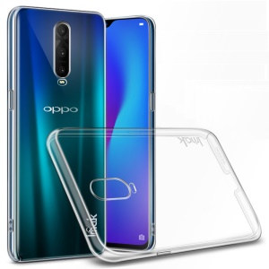 IMAK Crystal Case II Clear Wear Resistant Plastic Case + Screen Protector for Oppo R17 Pro