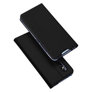 DUX DUCIS Skin Pro Series Leather Case with Card Slot for vivo v15 - Black