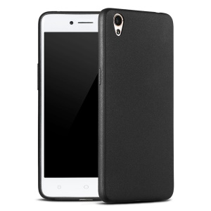 X-LEVEL Guardian Series Matte TPU Back Case for Oppo A37 - Black