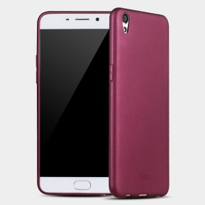 X-LEVEL for Oppo R9 Plus Guardian Series Matte TPU Slim Cover - Wine Red