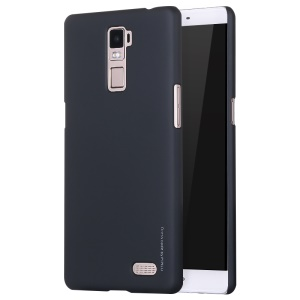 X-LEVEL Rubberized Slim Hard PC Case for OPPO R7 Plus - Black