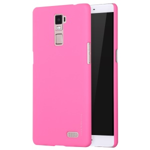 X-LEVEL Rubberized Slim Hard PC Case for OPPO R7 Plus - Rose