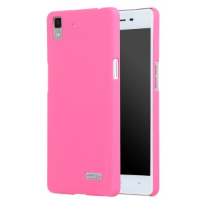 X-LEVEL Rubberized Slim Hard Phone Case for OPPO R7 - Rose