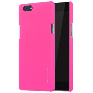 X-LEVEL Rubberized Hard PC Back Shell for Oppo R1C - Rose