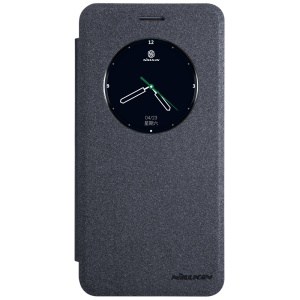 NILLKIN Sparkle Series View Window Smart Leather Case for Oppo F1S / A59 - Black