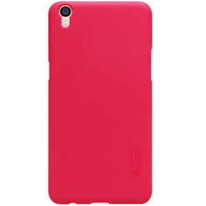 NILLKIN Super Frosted Shield PC Case for Oppo R9 Plus with Screen Film - Red