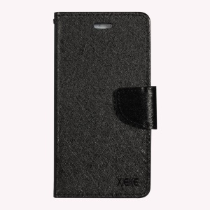 XIEKE Moon Poem Wallet Phone Cover for Oppo R9 Plus with Stand - Black