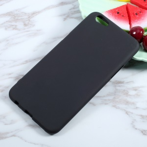 Matte Skin Soft TPU Mobile Phone Case for Oppo F3 Plus - Black
