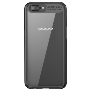 BASEUS Suthin Slim TPU + PC Combo Phone Shell pour OPPO R11 - Noir