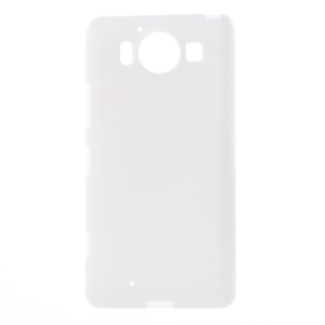 Solid Color Jelly TPU Phone Case for Microsoft Lumia 950 - White