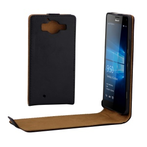 Vertical Flip Magnetic Leather Case for Microsoft Lumia 950