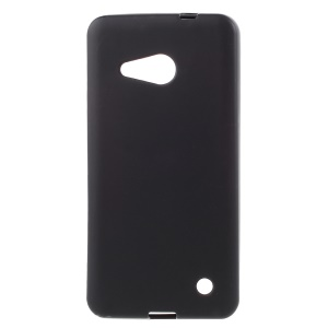 Double-sided Matte TPU Case for Microsoft Lumia 550 - Black