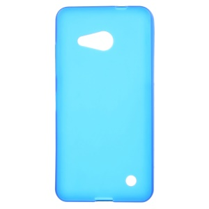 Double-sided Matte TPU Phone Case for Microsoft Lumia 550 - Blue
