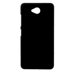Rubberized Hard PC Phone Case for Microsoft Lumia 650 - Black
