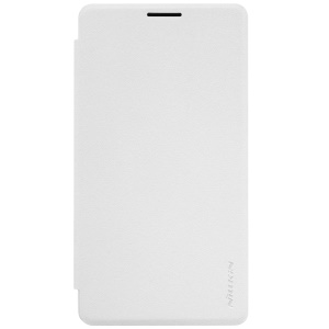 NILLKIN Sparkle Series Flip Leather Cover for Microsoft Lumia 950 XL - White