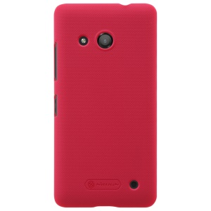 NILLKIN Super Frosted Shield PC Back Shell for Microsoft Lumia 550 - Red