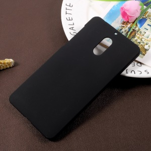 Rubberized Hard Plastic Case for Nokia 6 - Black