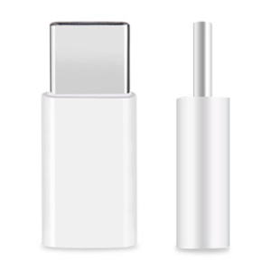 HAT PRINCE Micro USB to USB Type C Adapter for LG Nexus 5X/OnePlus 2 - Silver