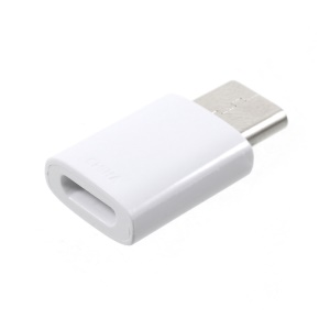 OEM SAMSUNG USB Type-C Male to Micro USB Female Adapter - White