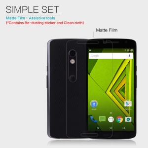 NILLKIN Matte Scratch-resistant LCD Screen Film for Motorola Moto X Play