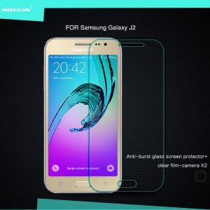 NILLKIN for Samsung Galaxy J2 SM-J200 Amazing H Nanometer Tempered Glass Screen Protector Anti-Explosion