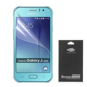 Ultra Clear Screen Protector Shield Film for Samsung Galaxy J1 Ace (With Black Package)