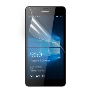 Clear LCD Screen Protector Guard Film for Microsoft Lumia 950