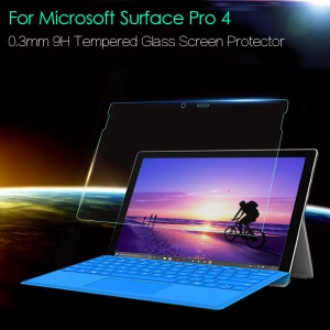 0.3mm 9H Tempered Glass Screen Protector for Microsoft Surface Pro 4
