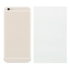 Matte Glittery Powder Back Decal Sticker Skin for iPhone 6 6s 4.7 inch - White